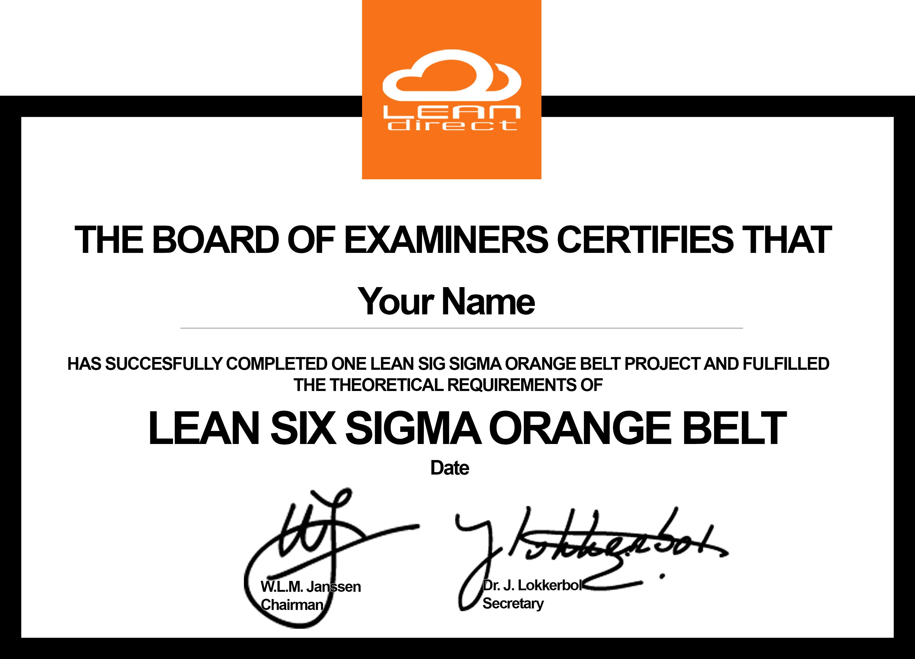 certificaat-orange-belt